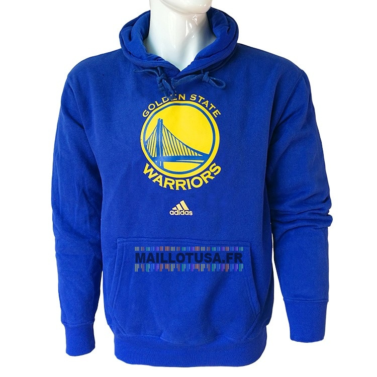 Maillot NBA Pas Cher - Hoodies NBA Golden State Warriors Bleu City
