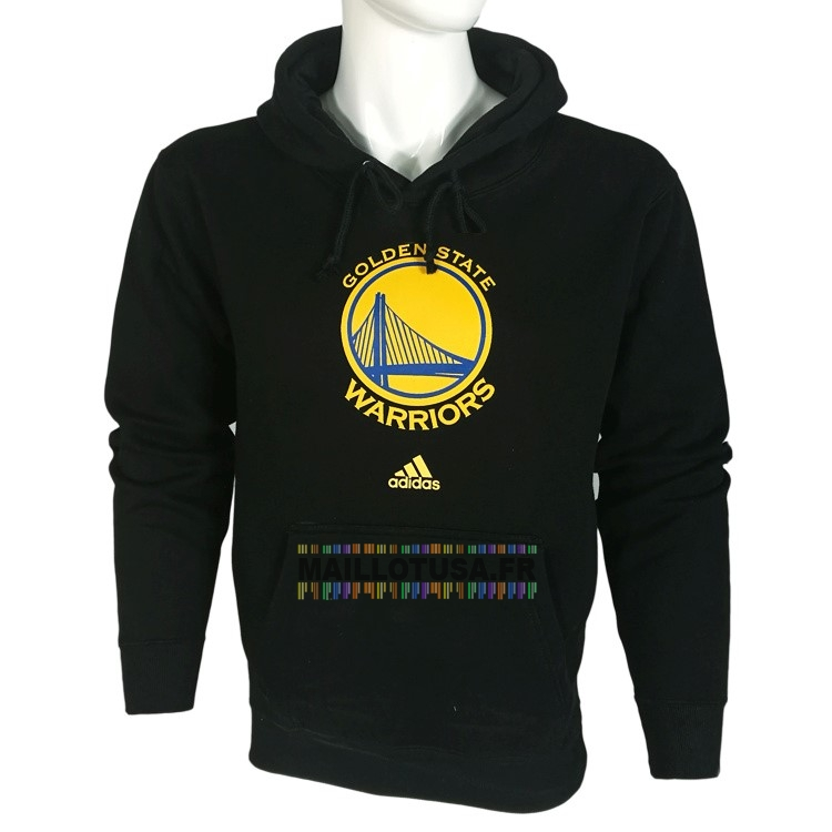 Maillot NBA Pas Cher - Hoodies NBA Golden State Warriors Noir City