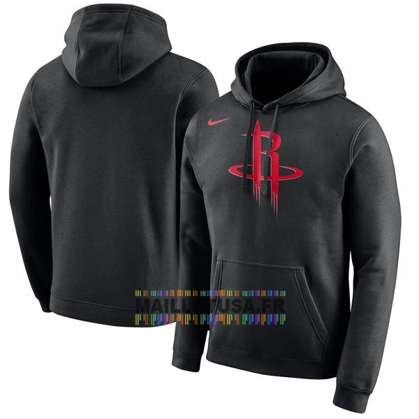 Maillot NBA Pas Cher - Hoodies NBA Houston Rockets Nike Noir