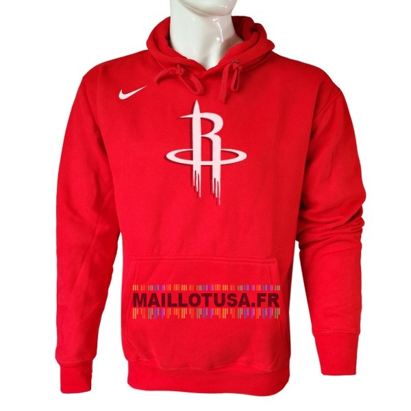 Maillot NBA Pas Cher - Hoodies NBA Houston Rockets Nike Rouge