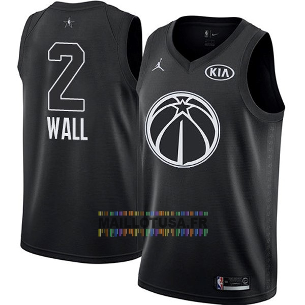 Maillot NBA Pas Cher - Maillot NBA 2018 All Star NO.2 John Wall Noir