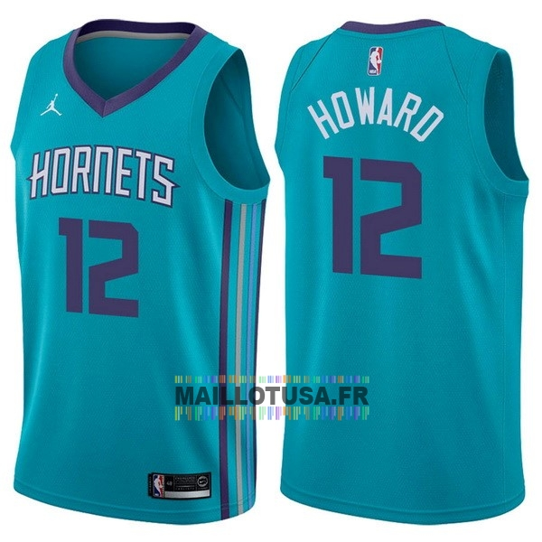 Maillot NBA Pas Cher - Maillot NBA Nike Charlotte Hornets NO.12 Dwight Howard Vert Icon