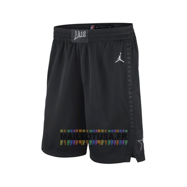 Maillot NBA Pas Cher - Short Basket 2018 All Star Noir