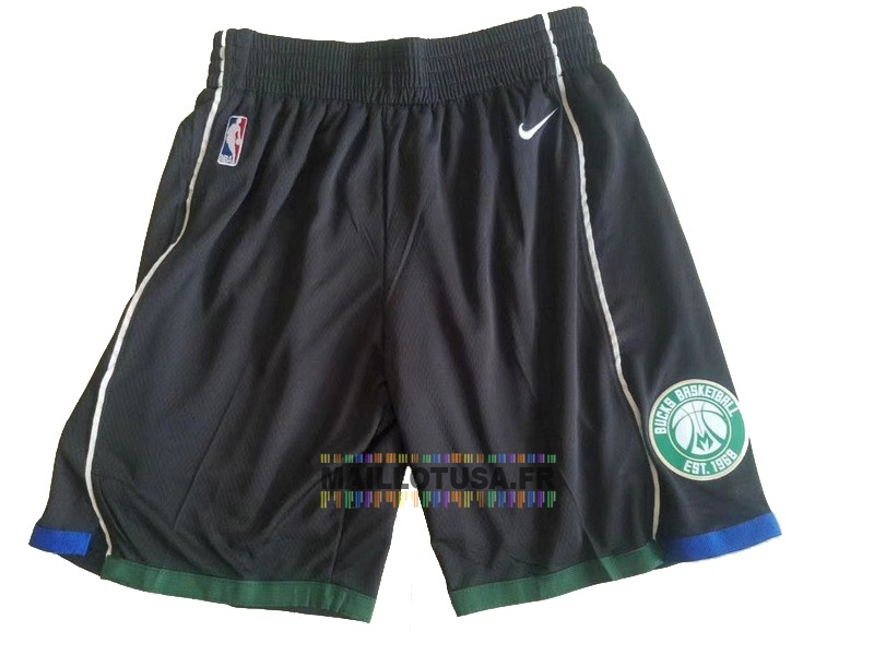 Maillot NBA Pas Cher - Short Basket Brooklyn Nets Nike Noir