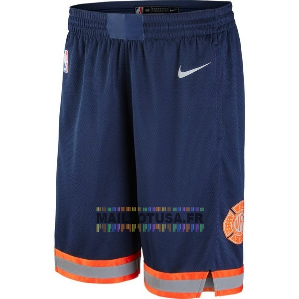 Maillot NBA Pas Cher - Short Basket New York Knicks Nike Marine