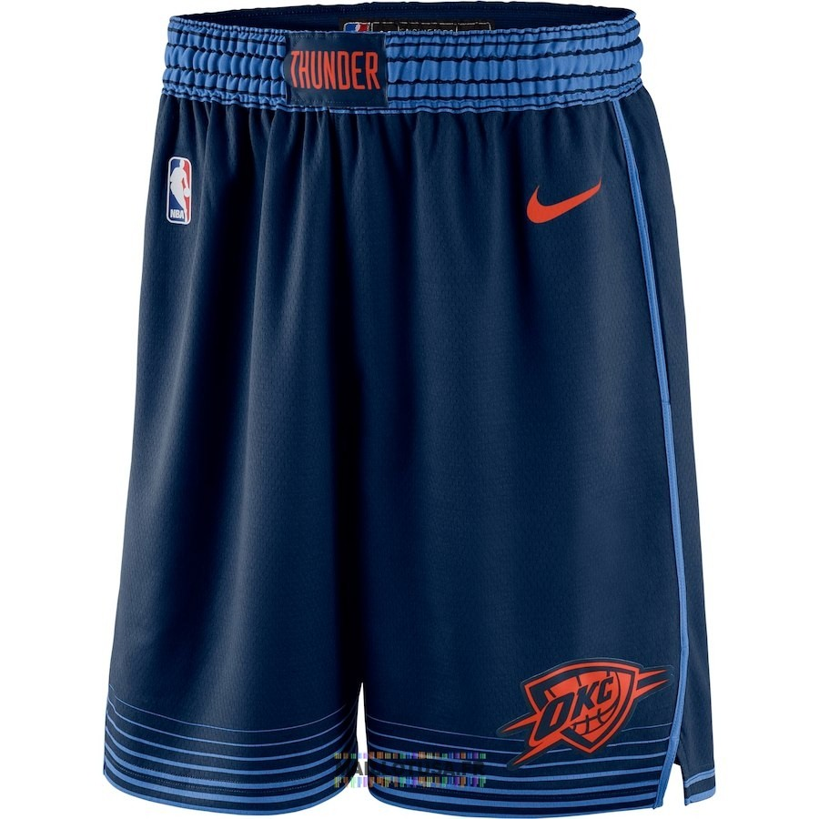 Short Basket Oklahoma City Thunder Nike Marine Statement 2018