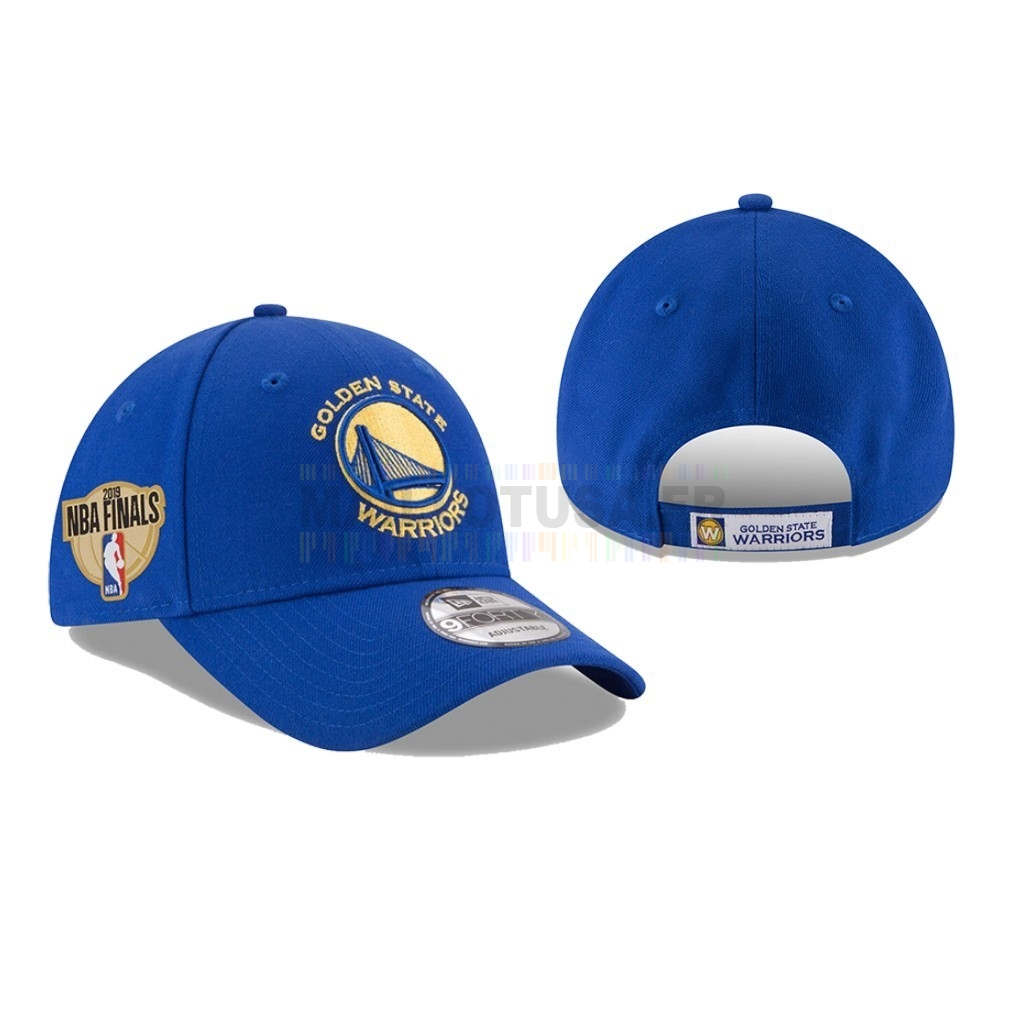 Bonnet 2019 NBA Finals Golden State Warriors Bleu 03