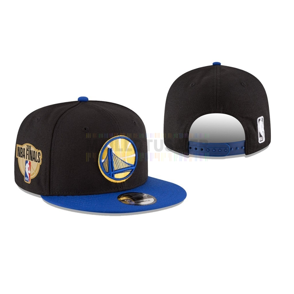 Bonnet 2019 NBA Finals Golden State Warriors Noir 01