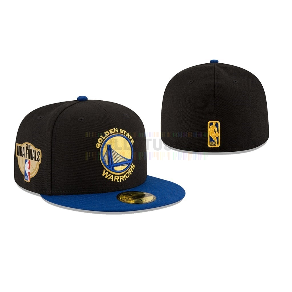 Bonnet 2019 NBA Finals Golden State Warriors Noir 02
