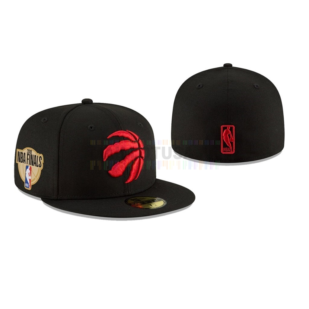 Bonnet 2019 NBA Finals Toronto Raptors Noir