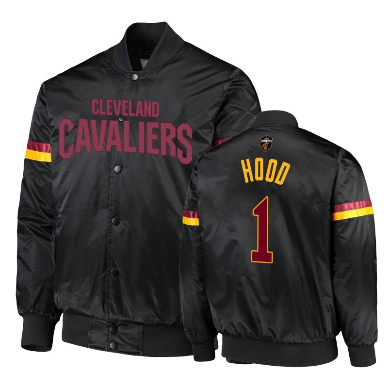 Survetement NBA Cleveland Cavaliers NO.1 Rodney Hood Noir