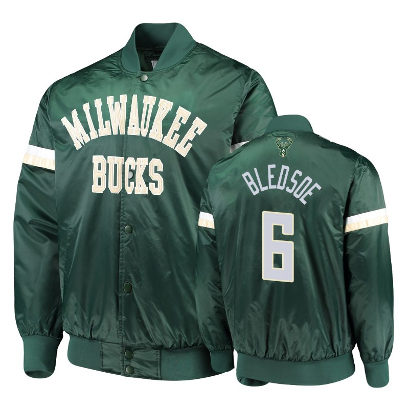 Survetement NBA Milwaukee Bucks NO.6 Eric Bledsoe Vert