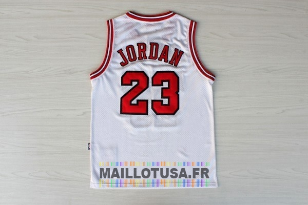 Maillot NBA Pas Cher - Maillot NBA 1998 All Star NO.23 Michael Jordan Blanc