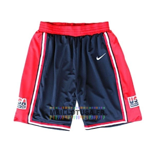 Maillot NBA Pas Cher - Short Basket 1992 USA Bleu