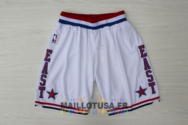 Maillot NBA Pas Cher - Short Basket 2003 All Star Blanc