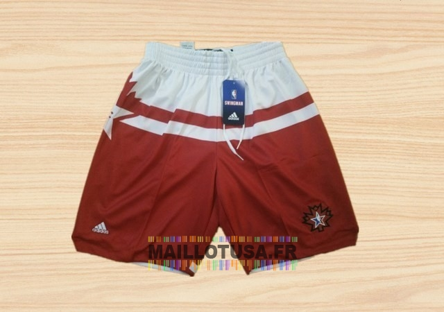 Maillot NBA Pas Cher - Short Basket 2016 All Star Rouge