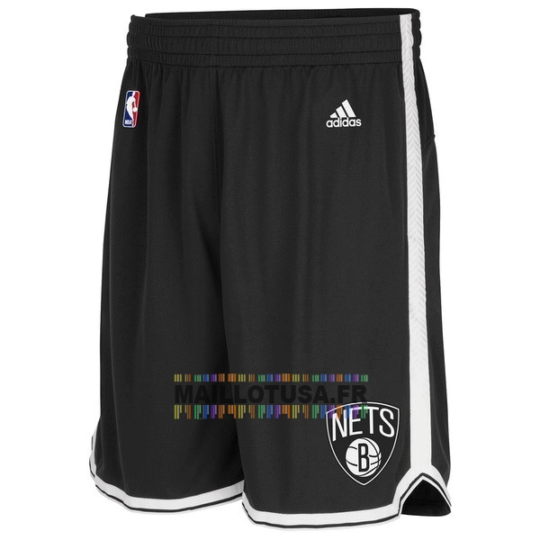 Maillot NBA Pas Cher - Short Basket Brooklyn Nets Noir