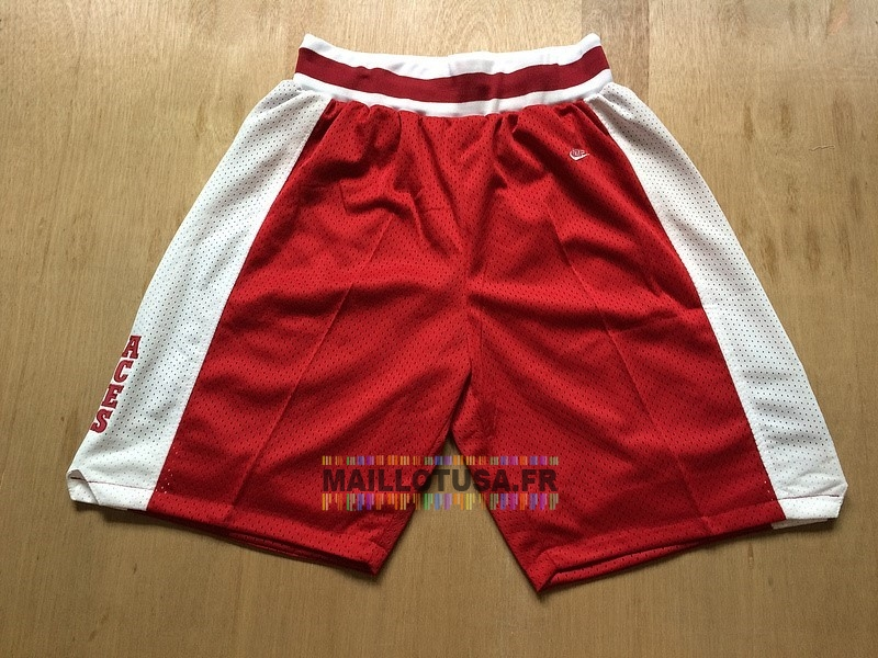 Maillot NBA Pas Cher - Short Basket Lower Merion Rouge