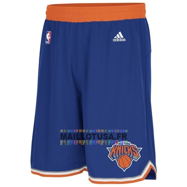 Maillot NBA Pas Cher - Short Basket New York Knicks Bleu