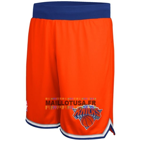 Maillot NBA Pas Cher - Short Basket New York Knicks Orange