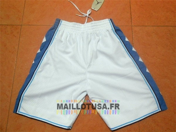 Maillot NBA Pas Cher - Short Basket North Carolina Blanc
