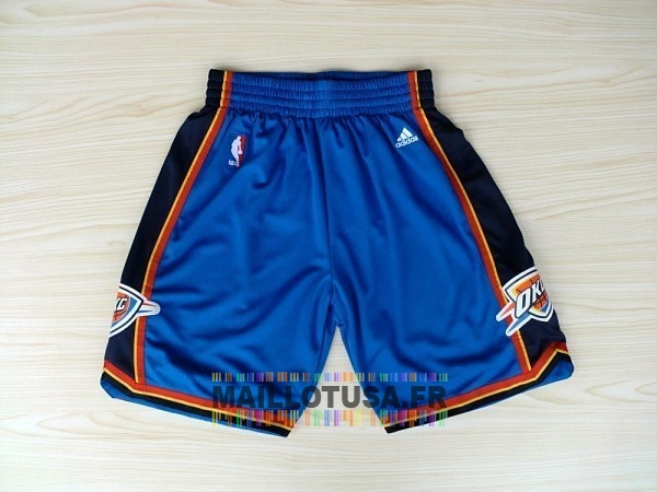 Maillot NBA Pas Cher - Short Basket Oklahoma City Thunder Bleu