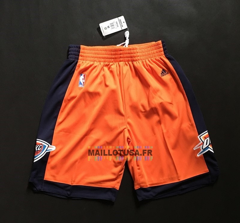 Maillot NBA Pas Cher - Short Basket Oklahoma City Thunder Orange