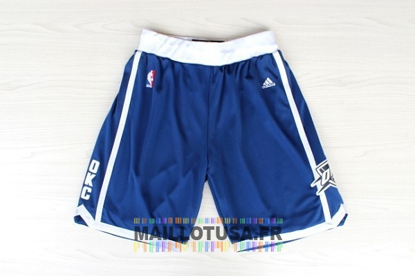 Maillot NBA Pas Cher - Short Basket Oklahoma City Thunder Retro Bleu