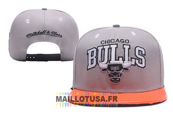 Maillot NBA Pas Cher - Bonnet 2017 Chicago Bulls Gris NO.02