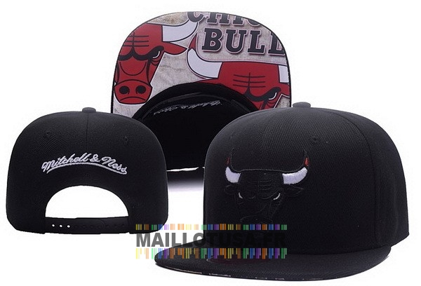 Maillot NBA Pas Cher - Bonnet 2017 Chicago Bulls Noir NO.01